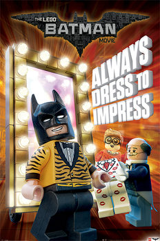 Juliste  Lego Batman - Always Dress To Impress