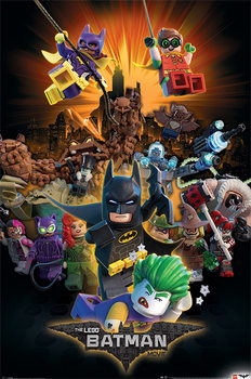 Juliste Lego Batman - Boom