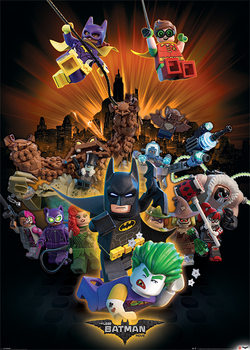 Juliste LEGO Batman - Boom