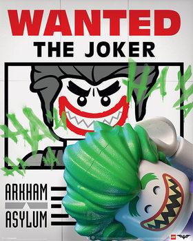 Juliste Lego® Batman - Wanted The Joker