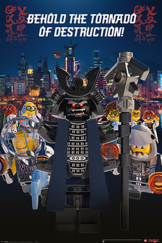 Juliste  Lego Ninjago Movie - Garmadon Destruction