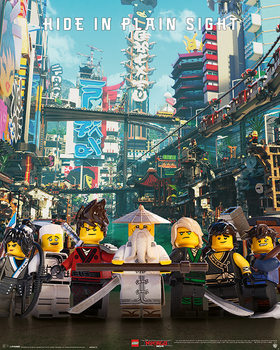 Juliste  Lego Ninjago Movie - Hide in Plain Sight