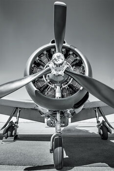 Juliste Lentokone - Propeller