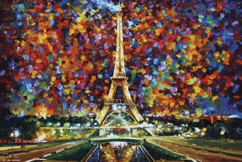 Juliste Leonid Afremov - Paris