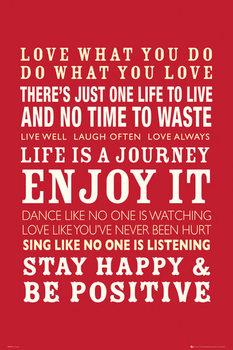 Juliste Life - Quotes