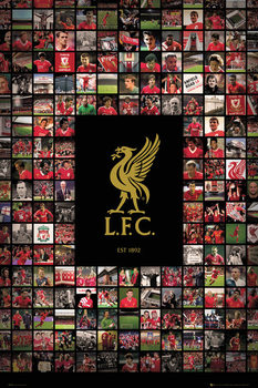 Juliste Liverpool FC - Compilation