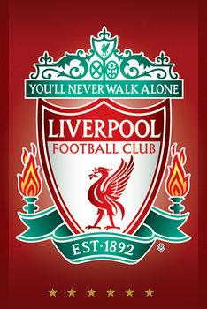 Juliste Liverpool FC - Crest