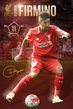 Juliste Liverpool FC - Firmino 15/16