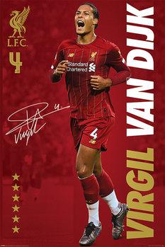 Juliste Liverpool FC - Virgil Van Dijk