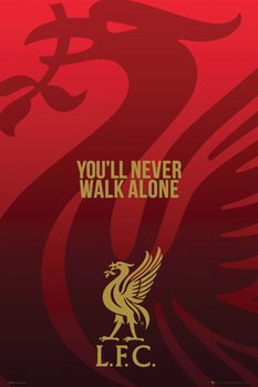 Juliste  Liverpool - Liverbird