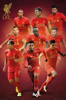 Juliste Liverpool - Players 16/17