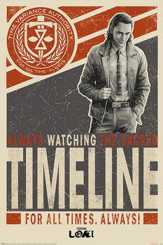 Juliste Loki - Timeline