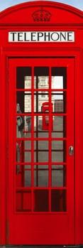Juliste Lontoo - telephone box