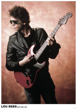 Juliste  Lou Reed - New York 1983