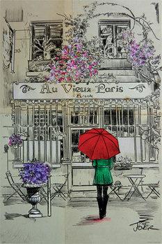 Juliste Loui Jover - Au Vieux Paris