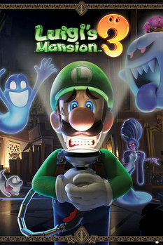 Juliste Luigi's Mansion 3 - You're in for a Fright