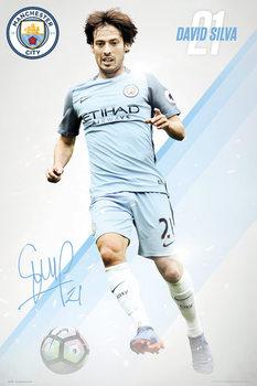 Juliste Manchester City - Silva 16/17