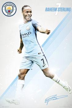 Juliste Manchester City - Sterling 16/17