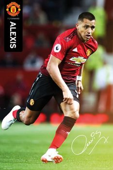 Juliste  Manchester United - Alexis 18-19