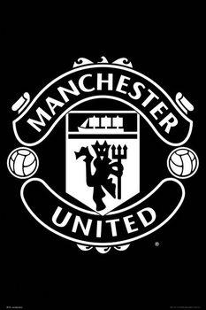 Juliste  Manchester United - Crest 17/18
