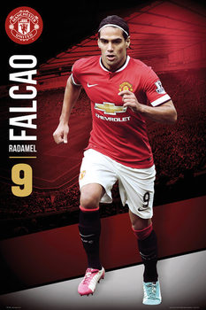 Juliste Manchester United - Falcao 14/15