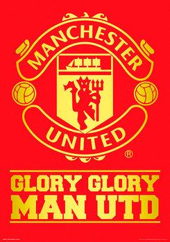 Juliste Manchester United FC - Crest
