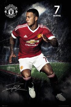 Juliste Manchester United FC - Depay 15/16
