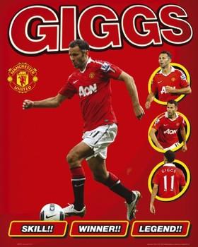 Juliste Manchester United - giggs
