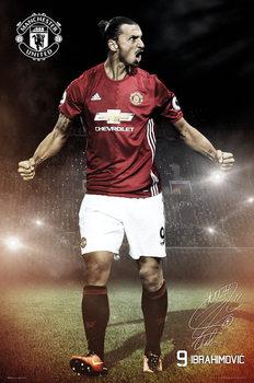 Juliste Manchester United - Ibrahimovic 16/17