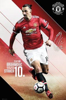 Juliste Manchester United - Ibrahimovic 17-18