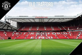 Juliste  Manchester United - Old Trafford 17/18