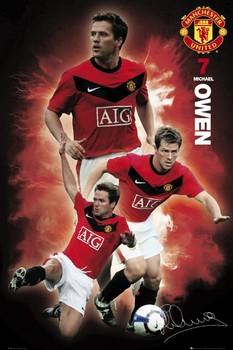 Juliste Manchester United - owen 09/10