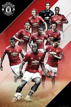 Juliste  Manchester United - Players 17/18