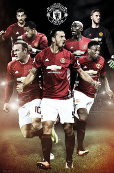 Juliste Manchester United - Players