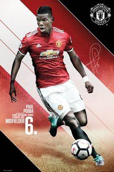 Juliste Manchester United - Pogba 17/18