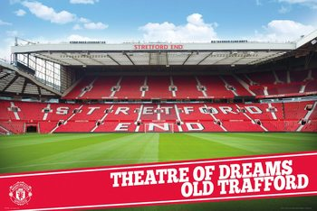 Juliste  Manchester United – Stadium 15-16