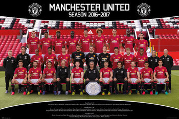 Juliste Manchester United - Team Photo 16/17