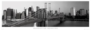 Juliste  Manhattan - morning