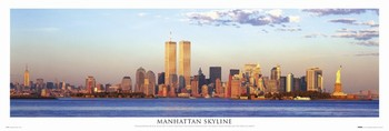 Juliste Manhattan - skyline