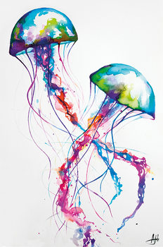 Juliste Marc Allante - Jellyfish