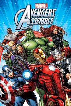 Juliste MARCEL - AVENGERS – group