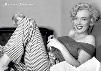 Juliste Marilyn Monroe – bed