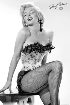 Juliste Marilyn Monroe - Table