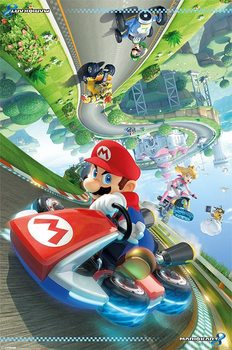 Juliste Mario Kart 8 - Flip Poster