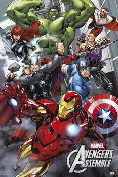 Juliste Marvel - Avengers Assemble