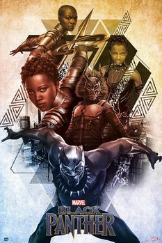 Juliste  Marvel - Black Panther