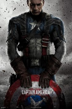 Juliste  Marvel - Captain America