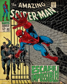 Juliste Marvel Comics - Spider-Man - Escape Impossible