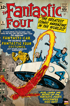Juliste  MARVEL - fantastic four