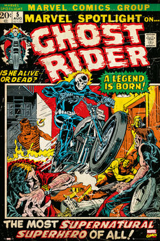 Juliste  MARVEL - ghost rider